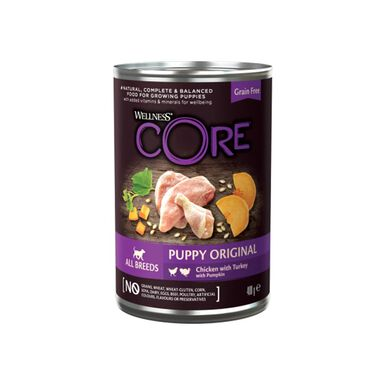 Lata Wellness Core puppy 400 gr