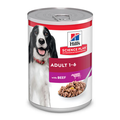 Hill's Adult Lata 370 gr sabor vitela