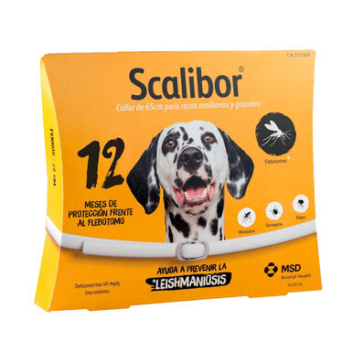 Scalibor coleira desparasitante para cão