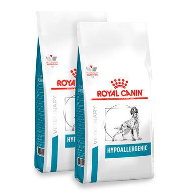 Royal Canin Veterinary Diet Hypoallergenic - 2x14 kg Pack Poupança