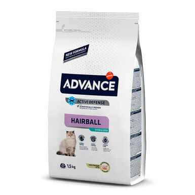 Affinity Advance Feline Sterilized Hairball peru e cevada