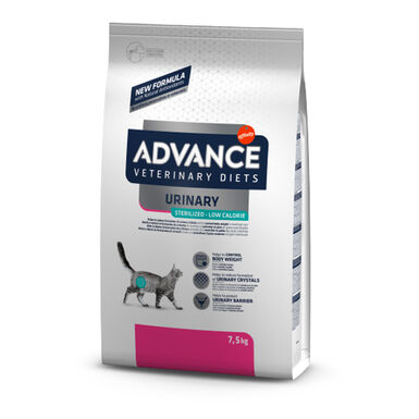Advance Veterinary Diets Feline Urinary Sterilized Low Calorie 7,5 kg