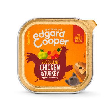 Pack 11 Latas Edgard & Cooper Comida húmida frango & peru 150 gr