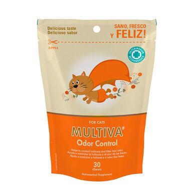 Multi-vitamínico para gatos Multiva Controlo de Odores