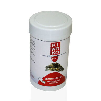 Alimento para Tortuga Acuática Gammarus Kiwoko Start 250 ml