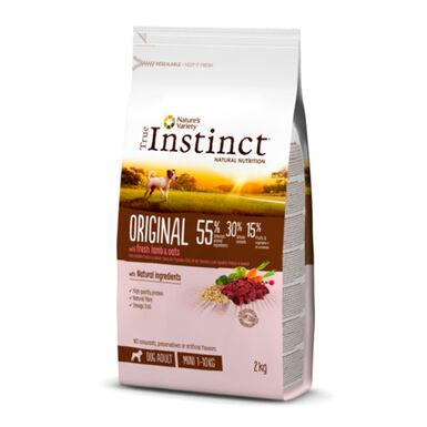 True Instinct Original Mini Adult com borrego 2 kg
