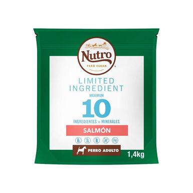 Nutro Limited Ingredient Diet raças de  porte mediano sabor Salmão