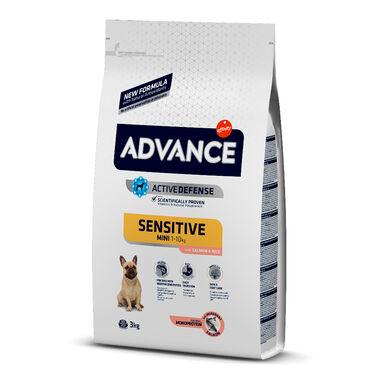 Advance Mini Sensitive ração para cães pequenos