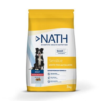 Nath Sensitive Grain Free Medium/Maxi Adult Ração para Cão