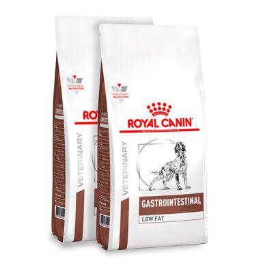 Royal Canin Veterinary Diet Gastro Intestinal Low Fat - 2x12 kg Pack poupança