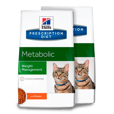 Hill's Feline Prescription Diet Metabolic - 2x4kg Pack Poupança