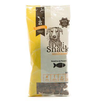 Criadores snack semihúmedo de pescado para perros