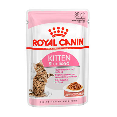 Alimento húmido Royal Canin Feline Kitten Sterilised 85 g