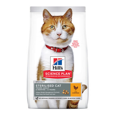 Hill's Feline Young Adult Sterilized frango