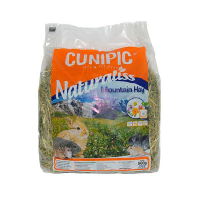 Heno multifloral Cunipic Naturaliss Mountain para roedor 500 g
