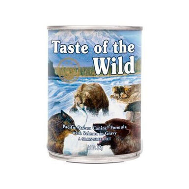 Lata Taste of the Wild Pacific Stream 390 g para cães