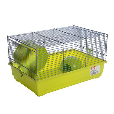 Gaiola Kiwoko Tundra verde para roedor