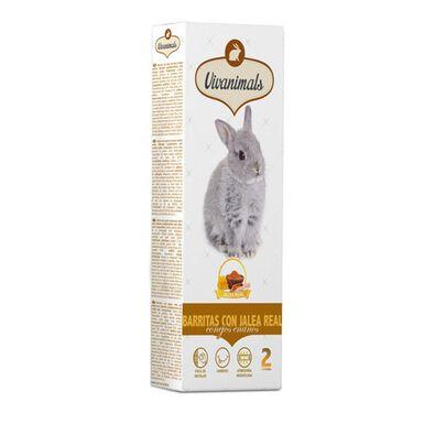 Vivanimals barritas jalea real para conejos
