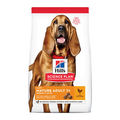 Hill's Mature Light frango 12kg