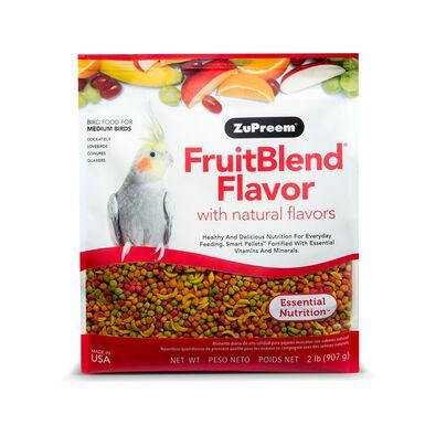 Alimento ZuPreem Fruit Blend M 0,9 kg