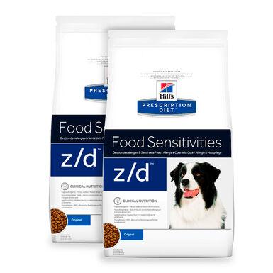 Hill's Prescription Diet z/d Ultra - 2x10 kg Pack Poupança