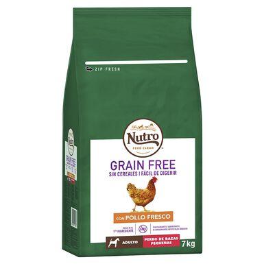 Nutro Grain free adulto mini frango 7 kg
