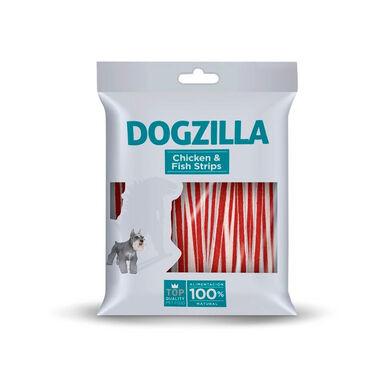 Dogzilla Tiras Frango e Peixe 100g Snack para Cão