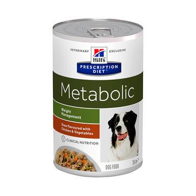 Lata para perros Hill's Prescription Diet Metabolic 354 gr