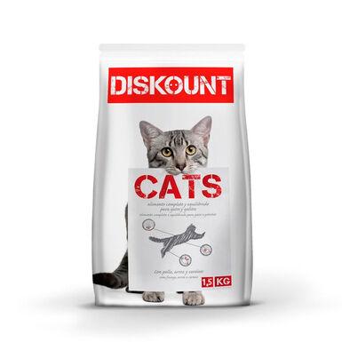 Diskount pienso para gatos