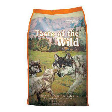 Ração para cachorros Taste of the Wild High Prairie Puppy bisonte e veado