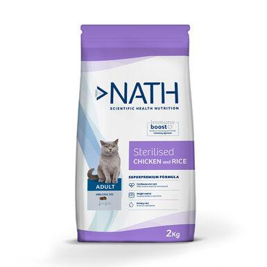 Nath Cat Adult Sterilized Ração para gato