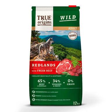 True Origins Wild Dog Redlands Adult - 2x12 kg Pack Poupança