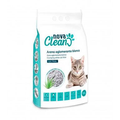 Areia Aglomerante Nova Clean Ultra 10l para gato