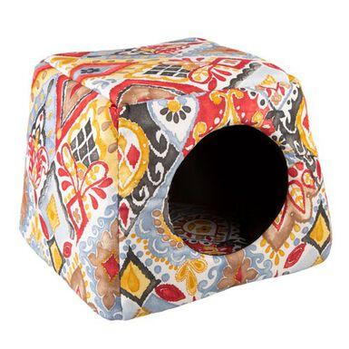 TK-Pet Doble Casandra cama cueva para gatos 2 en 1