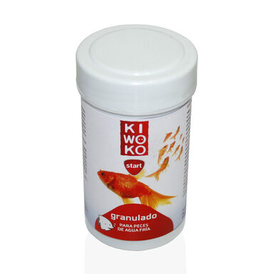 Kiwoko Start Granulado para Peixes de Água Fria 100 ml