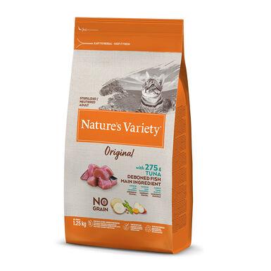 Nature's Variety Original con atún para gato esterilizado