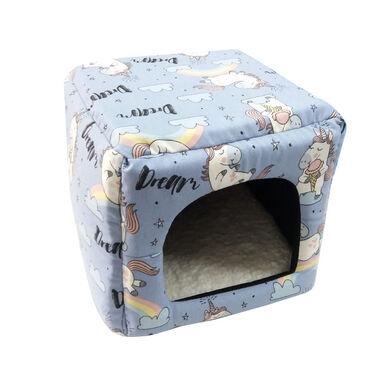 Cubo Unicornio Small Life para pequeñas mascotas