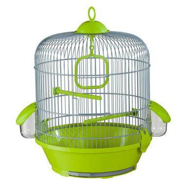 Voltrega redonda pequeña jaula para canarios