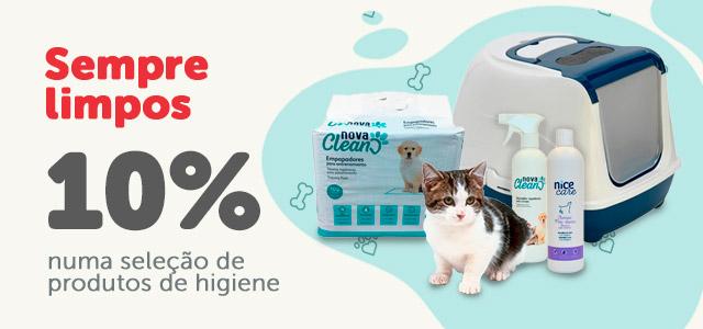 10% de desconto para estar limpos e bonitos