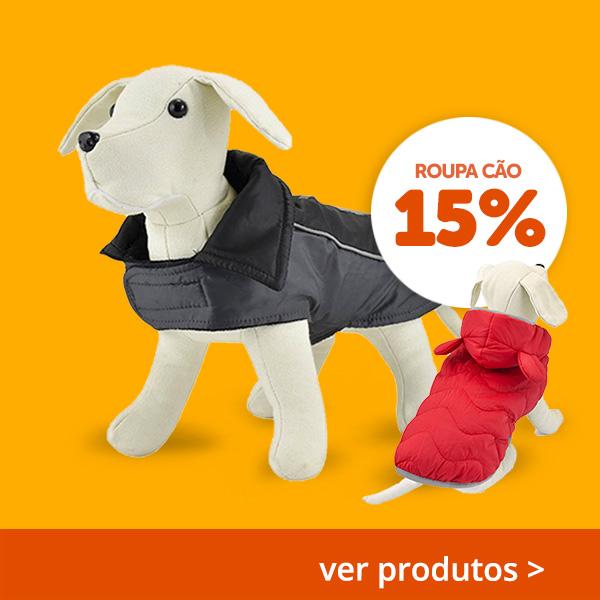 15% Ropa Perro