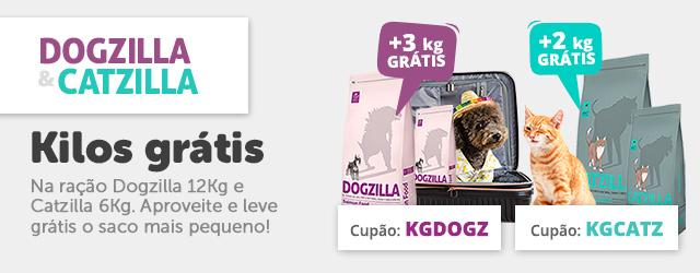 Dogzilla & Catzilla - Kg grátis