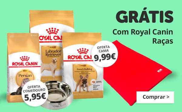 Ofertas com a gama raças de Royal Canin