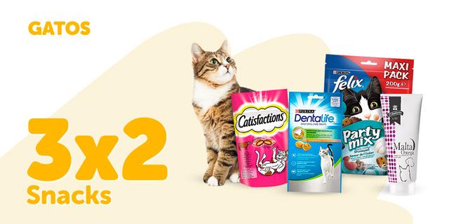 Desconto em snacks gato