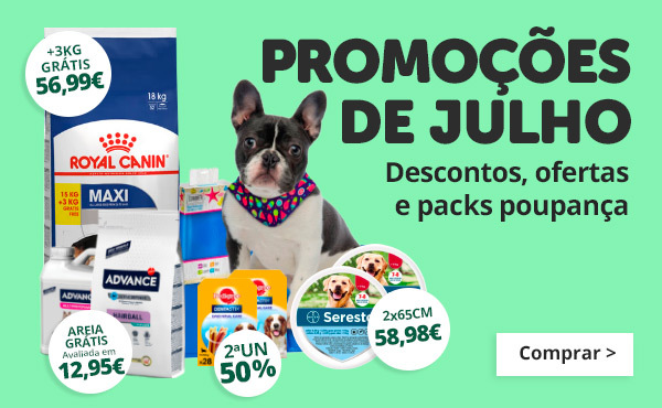 Até 30% e grandes ofertas em Julho