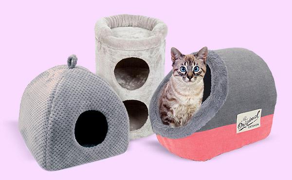As melhores camas para gatos
