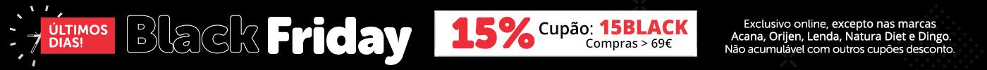 Aproveite já 15% en compras superiores 69€