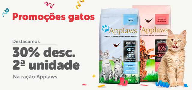 Applaws - 30% na 2ª unidade ração gato