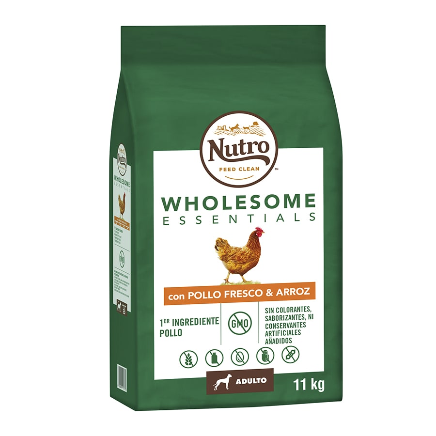Nutro Wholesome Essentials para cães Adultos sabor frango 11,5 kg, , large image number null