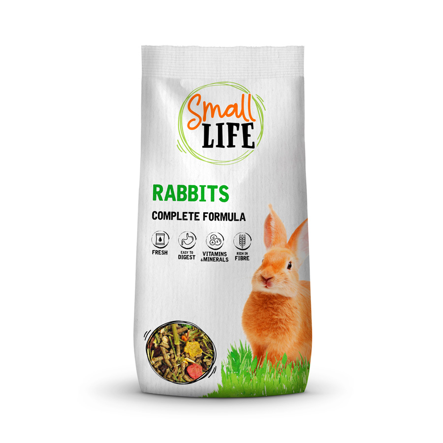 Alimento para Coelho Adulto Small Life 800 gr, , large image number null