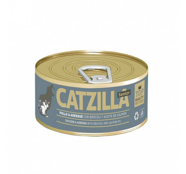 Lata Catzilla para gato 100 gr, , large image number null